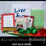 giveaway details here
